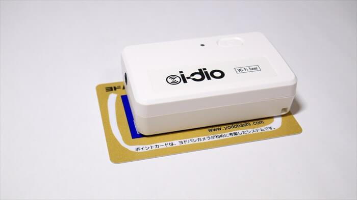 チューナーはカードと比べて2周りほど小さい