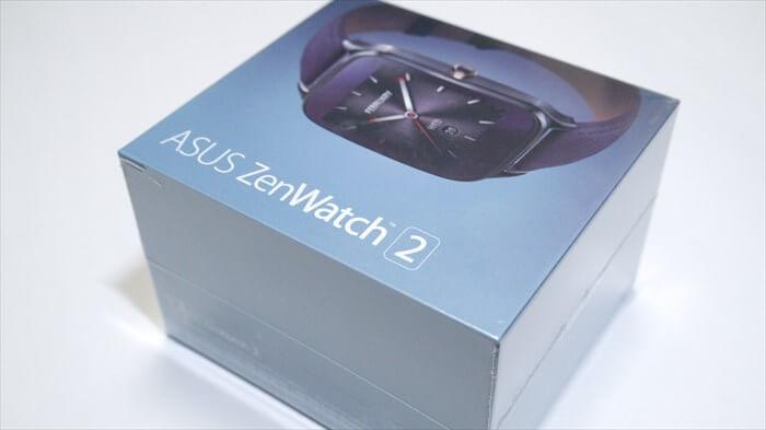 ZenWatch 2の外箱