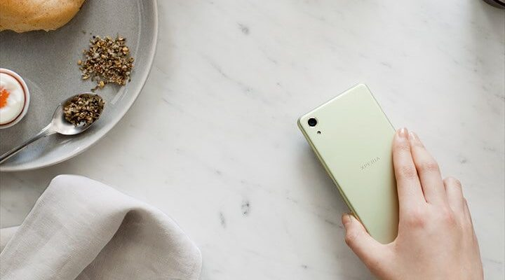 Xperia X Performanceとパン