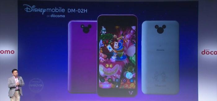 ドコモ2016年夏モデル Dizney mobile