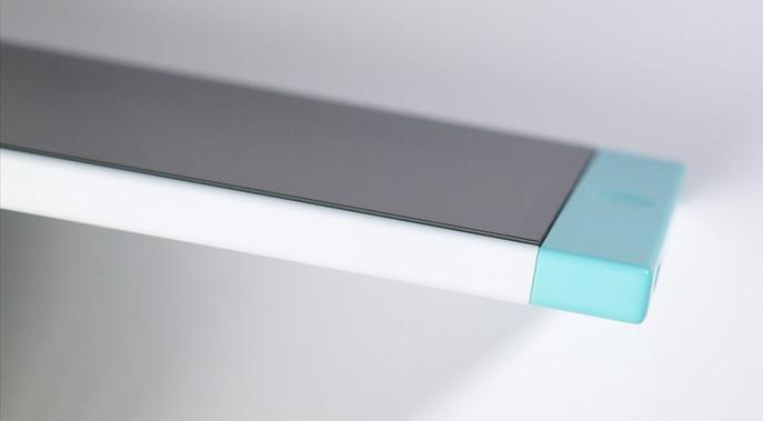 ガラスフィルムを貼ったNextbit Robin