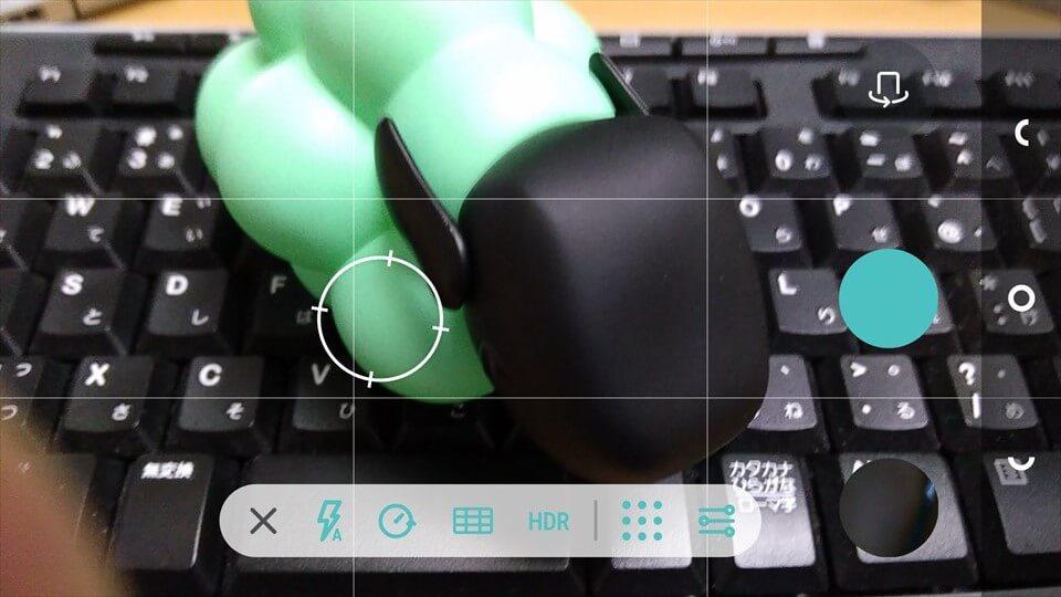 Nextbit Robinのカメラアプリの設定項目