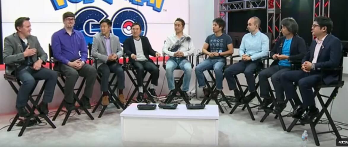 Pokemon GoのE3インタビュー