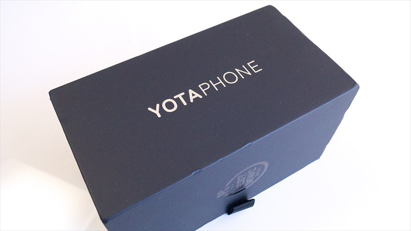 YotaPhone 2の外箱